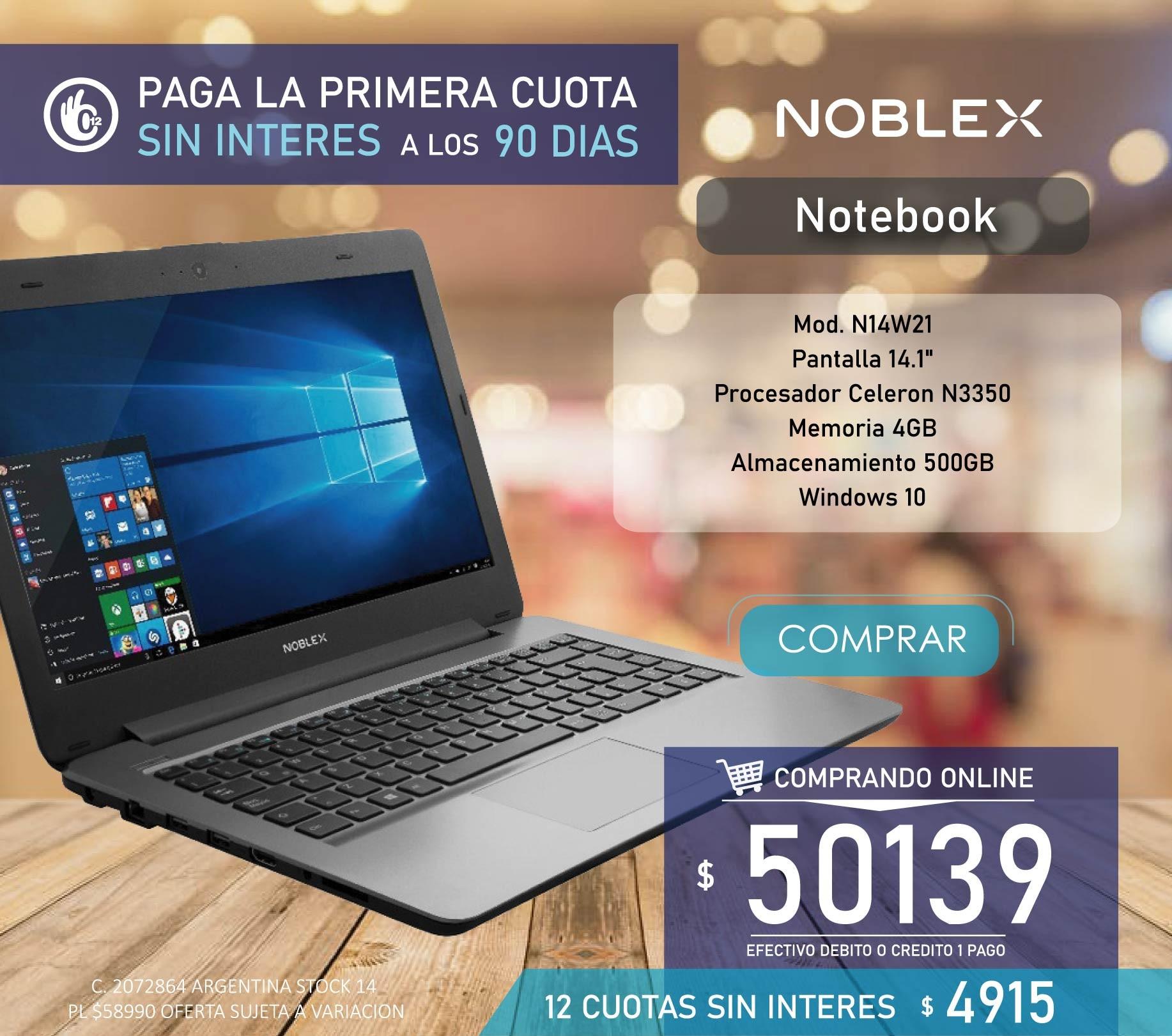 Notebook Noblex